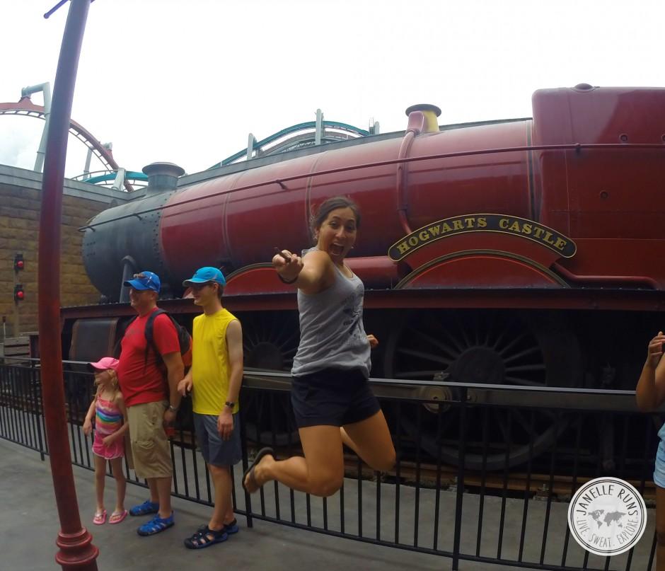 Jump - Hogwarts Express