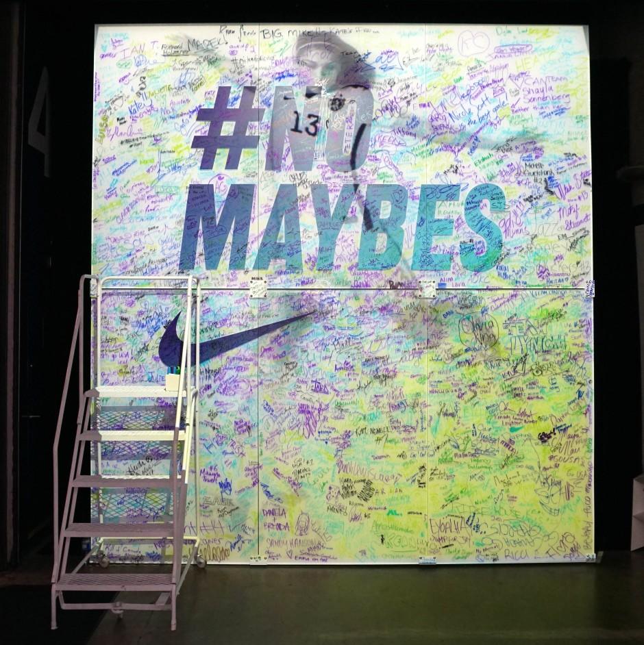 #NoMaybes, The Nike Underground