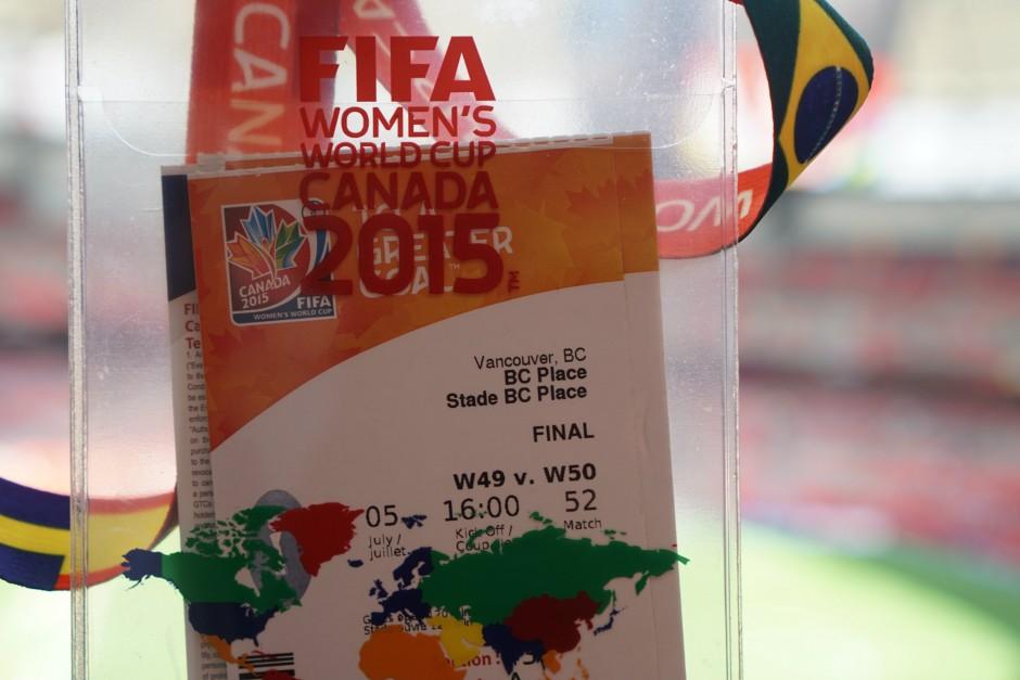WWC2015, Final ticket